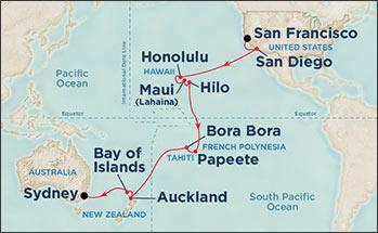 SF to Sydney