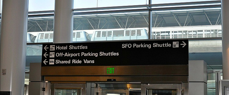 SFO Transit Sign