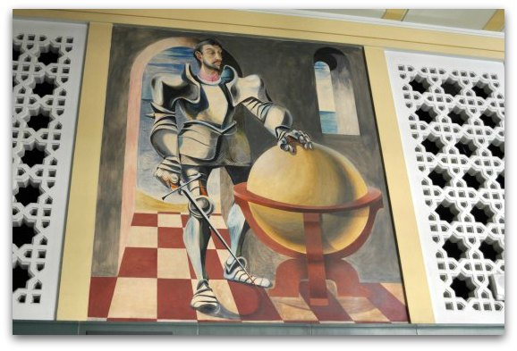 sir francis drake mural
