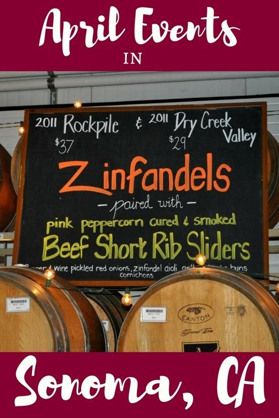 Sonoma Events in April: Festivals, Wine Tasting & More