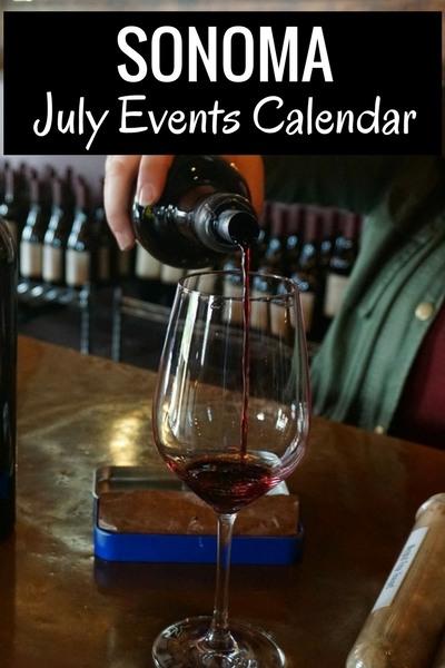 July Calendar for Sonoma: Festivals, Wine Tasting, & More