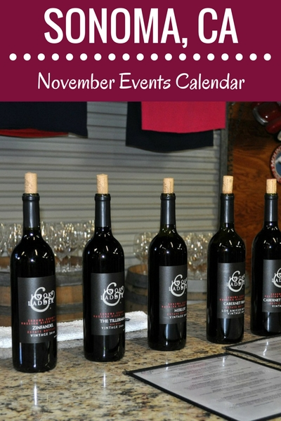 November in Sonoma: Wine Tasting, Holiday Events & Festivals