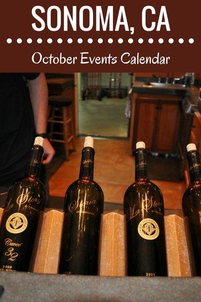 Sonoma in October: Events, Festivals, & Wine Tasting Parties