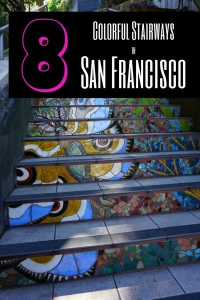 8 Fun Staircases in San Francisco
