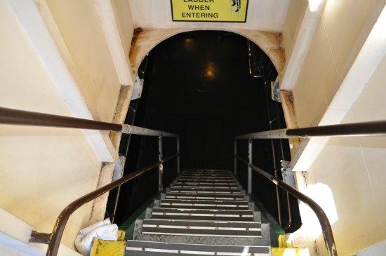 stairs uss pampanito