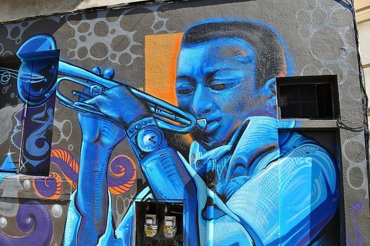 Street Art near Alamo Square