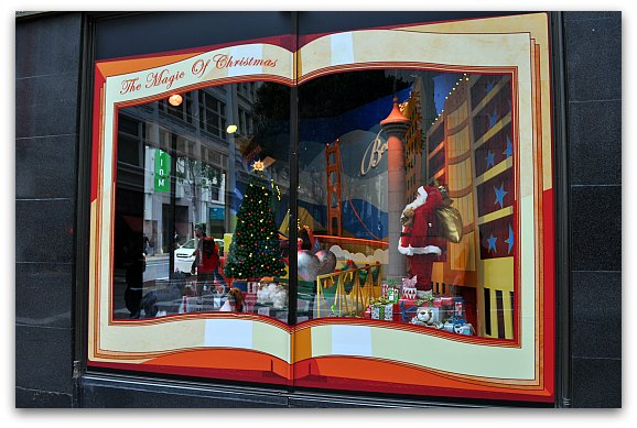 The Magic of Christmas at Macy's in SF