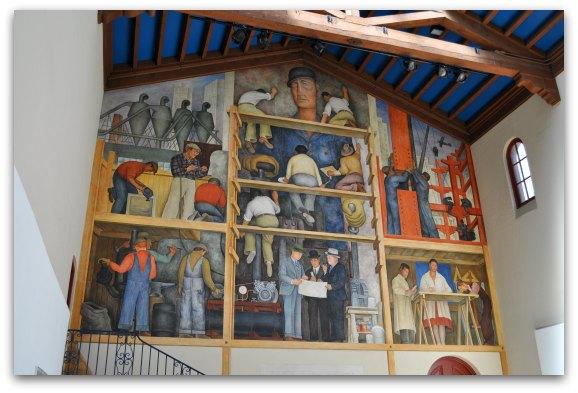 the making of a fresco