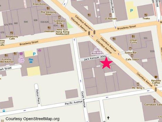 vesuvio cafe map