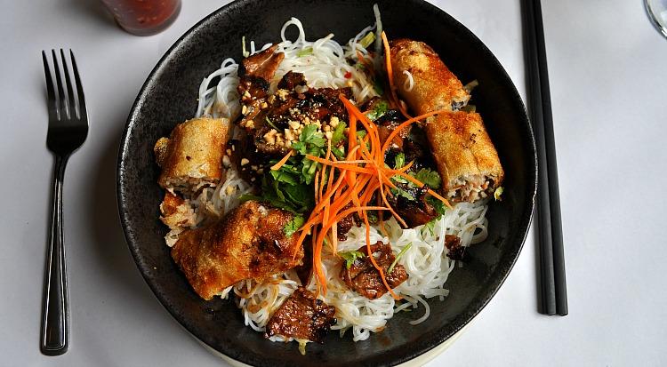 Dinner at the Vietnamese restaurant in SF