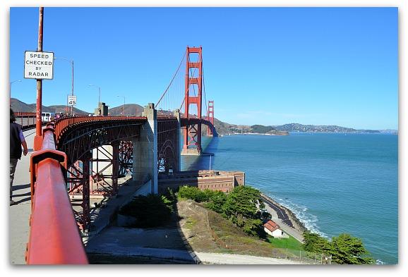 Walking Tour on the Golden Gate Bridge