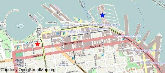 waterfront segway map