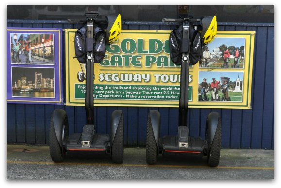 segways in fishermans wharf