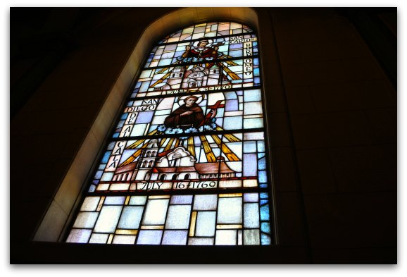 windows in basilica