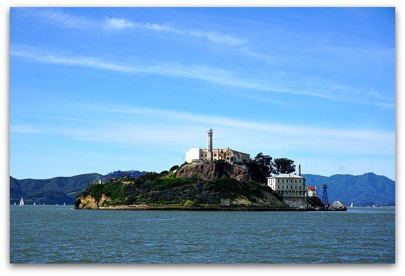 Yacht Alcatraz Island