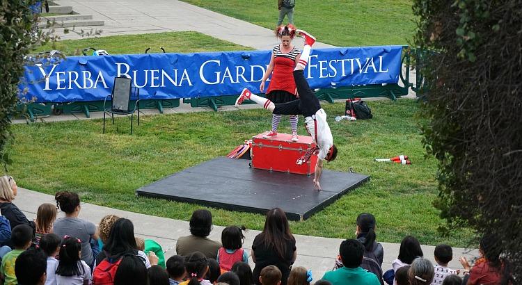 Yerba Buena Gardens Festival in San Francisco