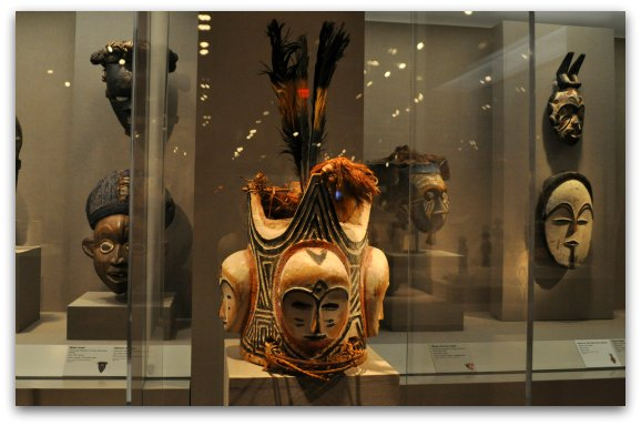 The African Art Gallery in the de Young Museum in San Francisco