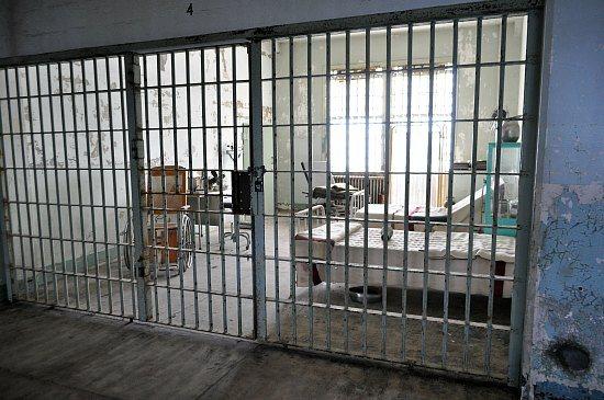 Alcatraz Hospital Room