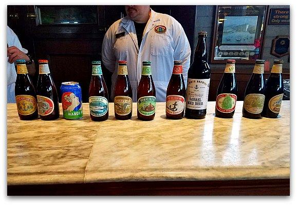 Anchor Steam Brewery Tour