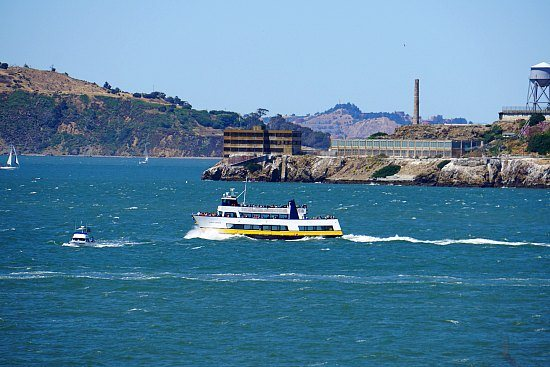 A Blue and Gold Fleet Cruise on the SF Bay.
