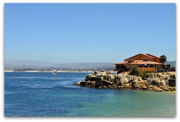 The coastline of the Monterey Bay