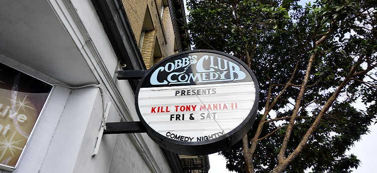 Cobbs Comedy Club SF