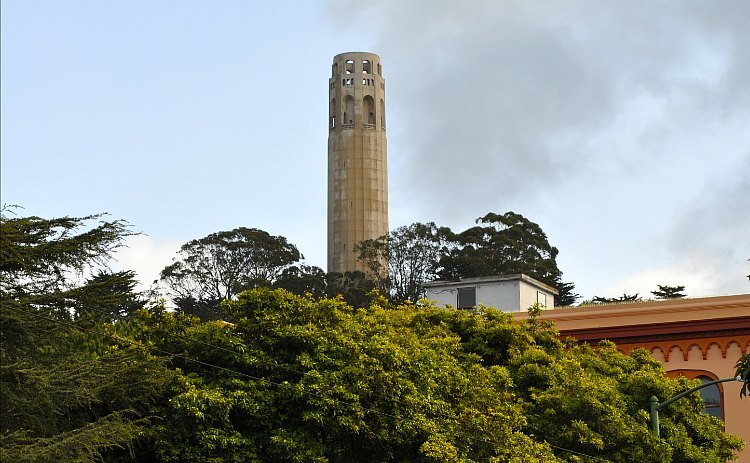 Coit Tower in SF