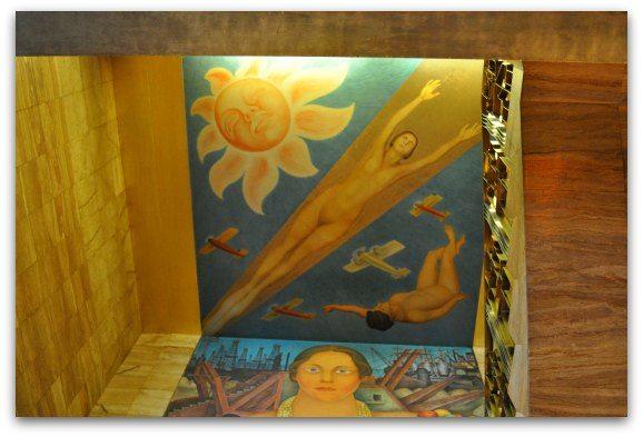 A free Diego Rivera Fresco