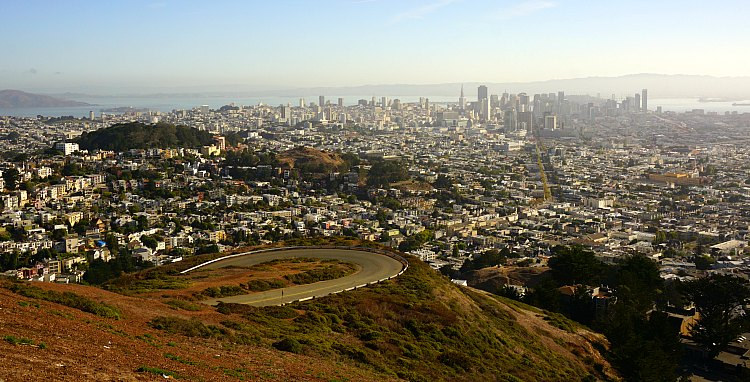 Downtown SF from Twin Peaks