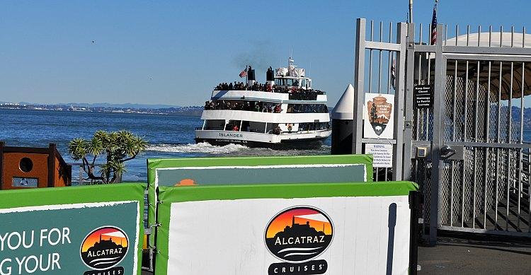 Full Alcatraz Cruise Leaving SF