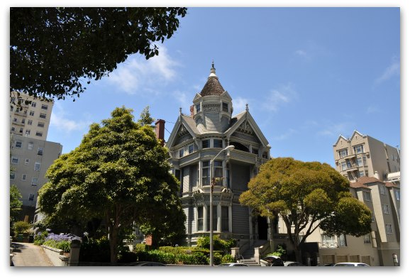 The Haas Lilienthal House in SF's Pacific Heights neighborhood