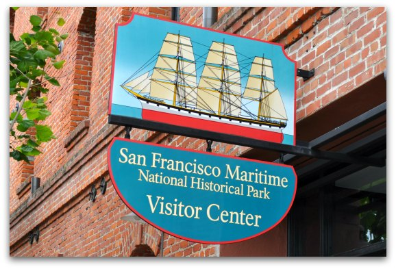 Maritime Museum, one of the SF history museums, in Fishermans Wharf