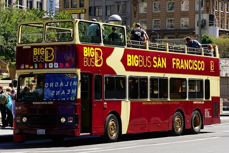 Hop On Off Bus Tours In San