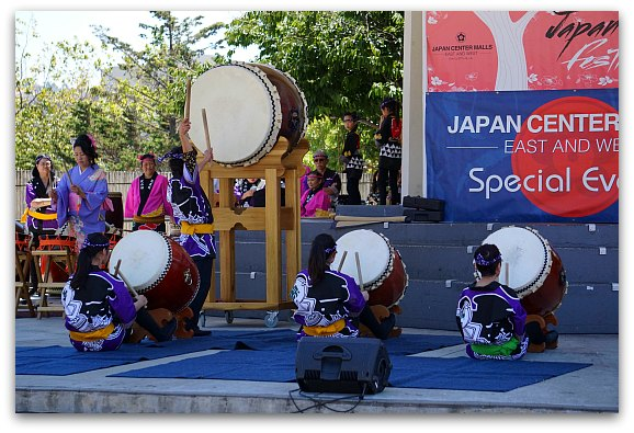 Japan Day Festival featuring local musicians.
