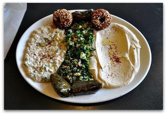 Lunch at Palmya in San Francisco.