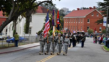 Memorial Day Celebration at the Presidio