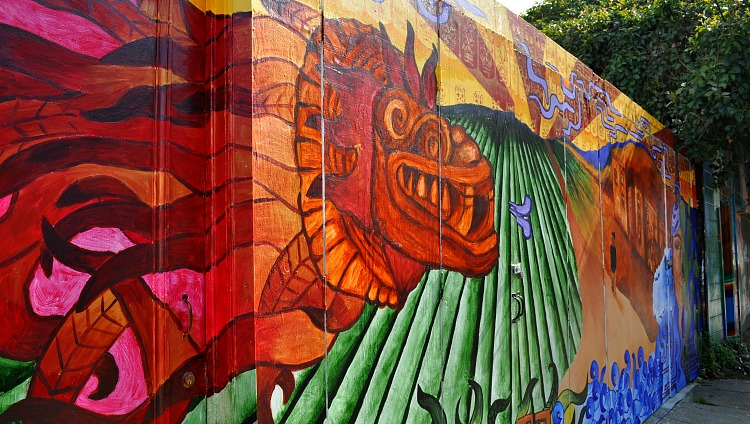 Mural in the Mission District
