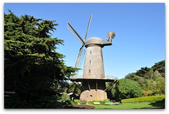 One of the Northern Dutch Windmills in Golden Gate Park.