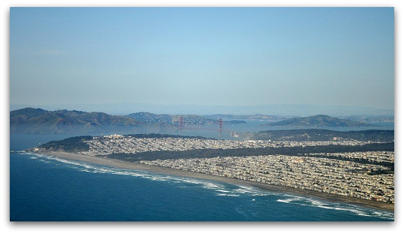 Ocean Beach from above
