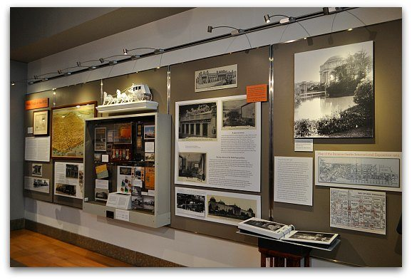 An exhibit about the Panama Pacific Exhibition in SF.