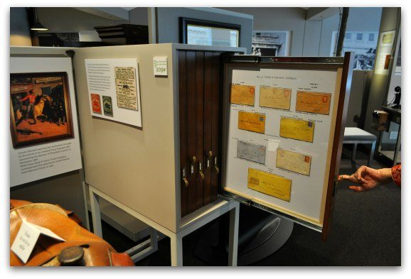 Rare documents housed in the Wells Fargo Museum in SF