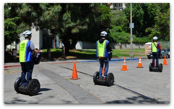 Segway Tour in Fishermans Wharf
