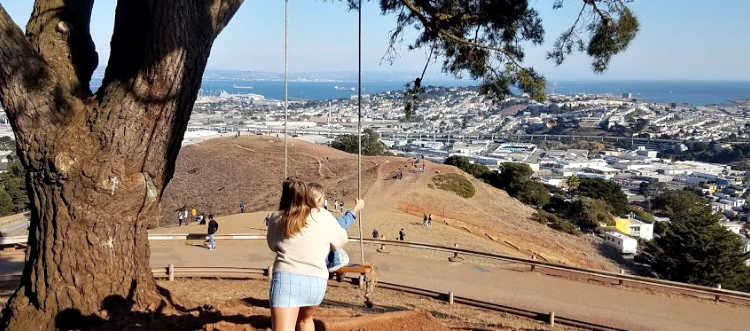 Swing at Bernal Heights Park