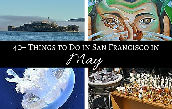 Graphic of things to do in San Francisco in May