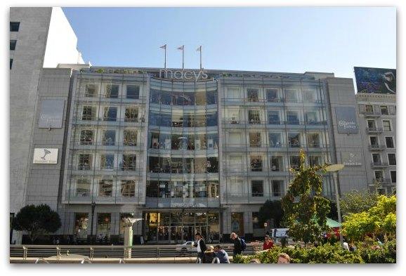 Macy's in San Francisco's Union Square