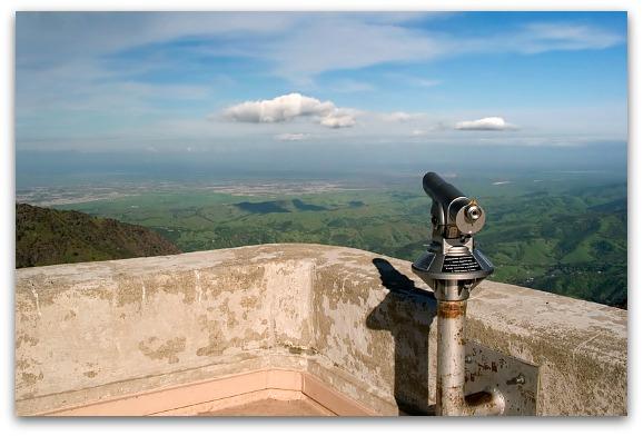 View from Mount Diablo