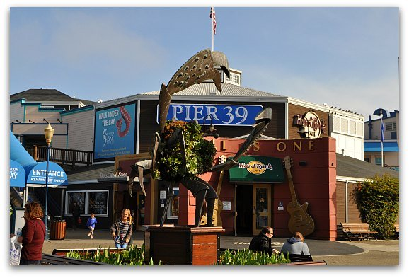 Winter Shopping in SF at Pier 39