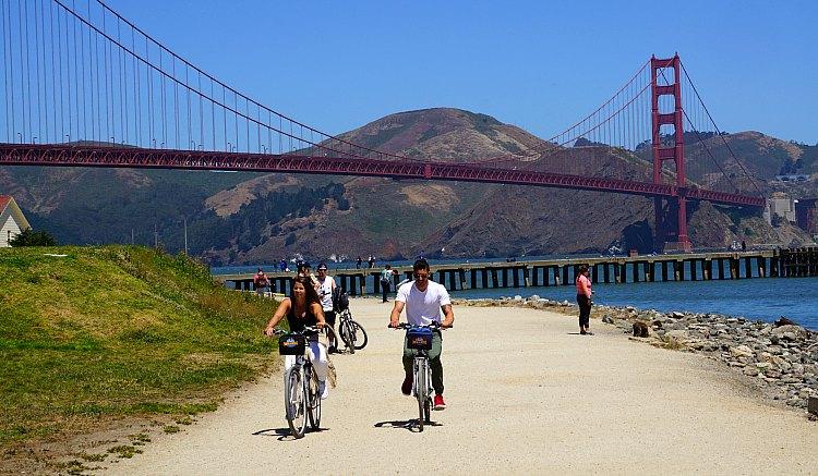Biking Trail in SF