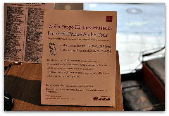 Free audio tour at an SF Museum.
