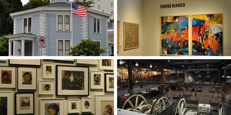 Graphic with 10 Free Museums in SF
